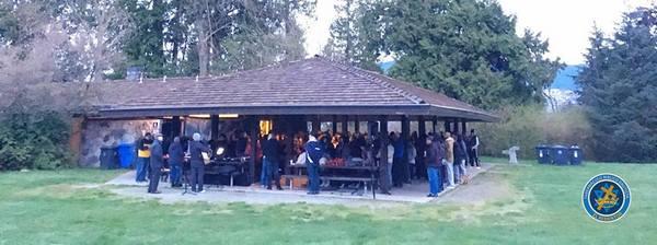 Culto de Resurrección en Stanley Park