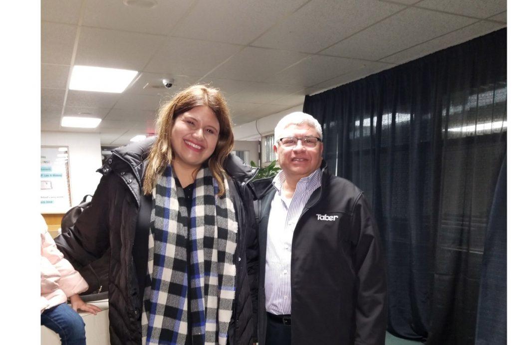 Marcela Gandara en nuestra Iglesia en Vancouver