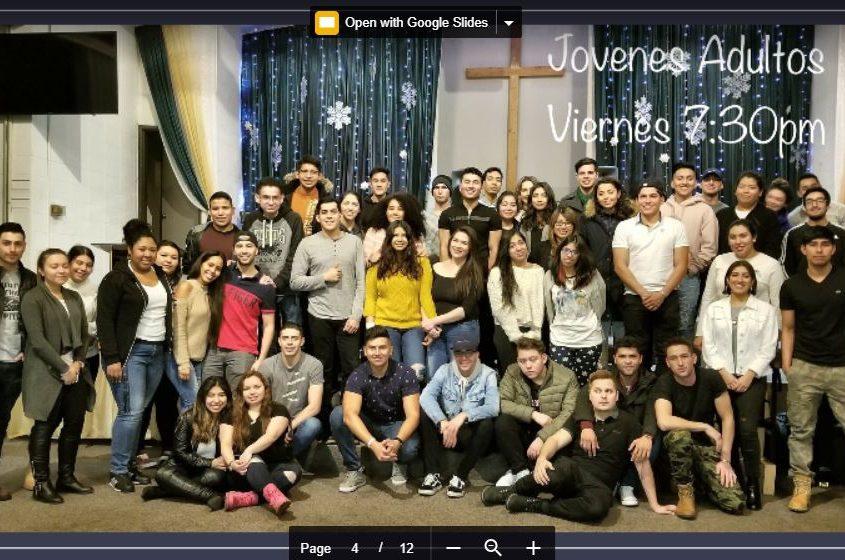 Ministerio de Jovenes Adultos - Iglesia El Redentor