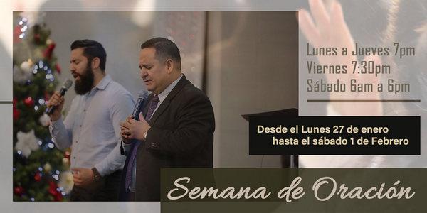 Semana de oración - Iglesia El Redentor