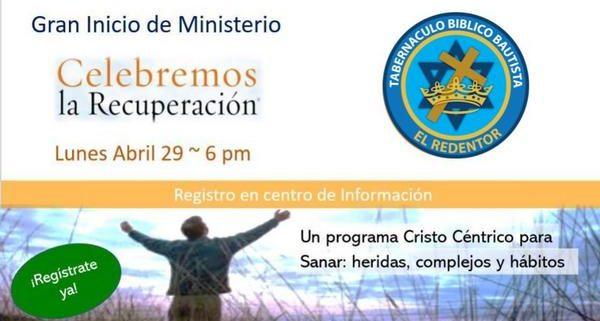 Ministerio Celebremos la Recuperación