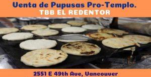 Pupusas - Campaña Protemplo - Iglesia Bautista El Redentor