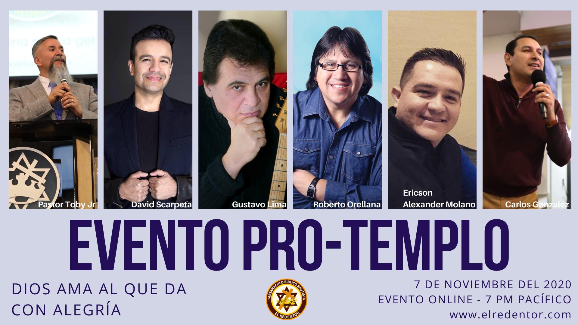 Encuentro Pro Templo - Iglesia El Redentor