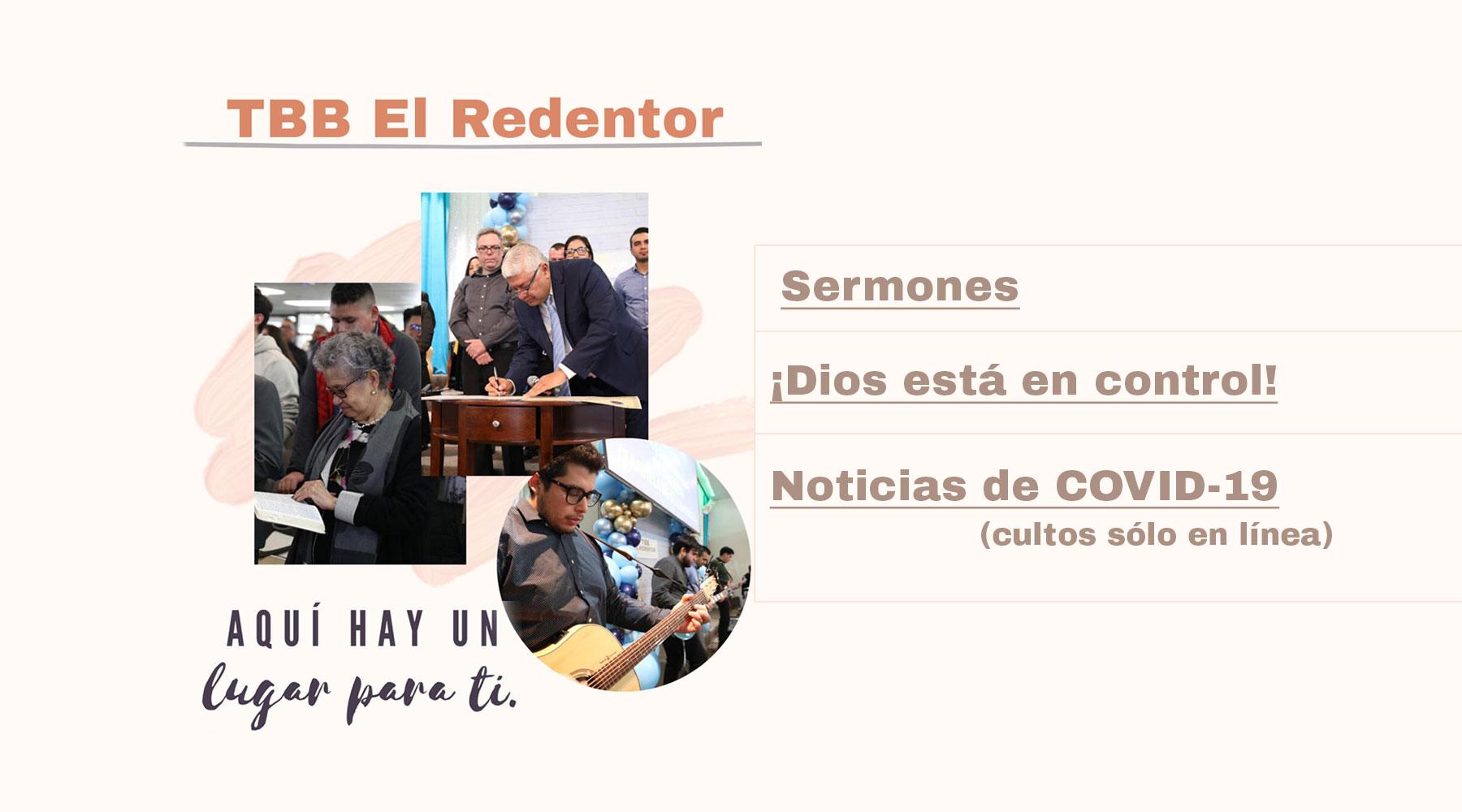 Homepage - Iglesia El Redentor