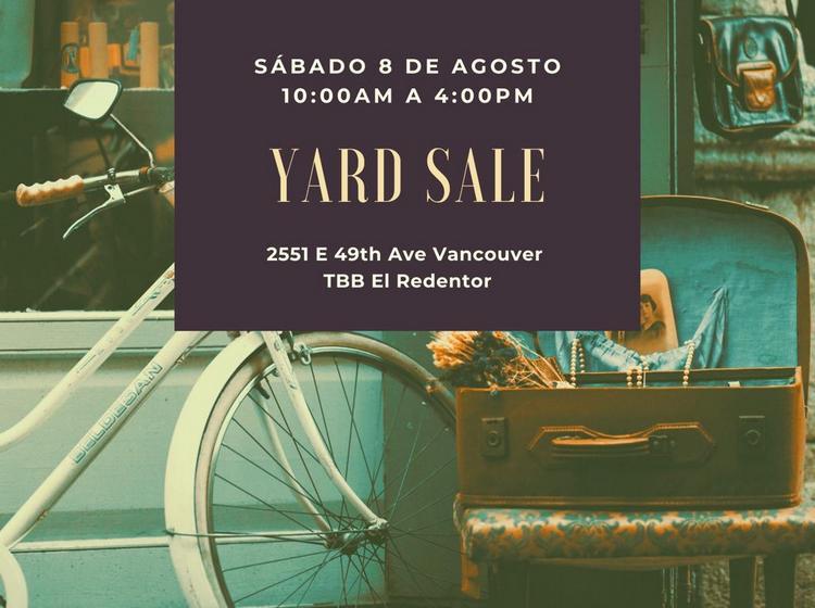 Yard sale - Iglesia El Redentor
