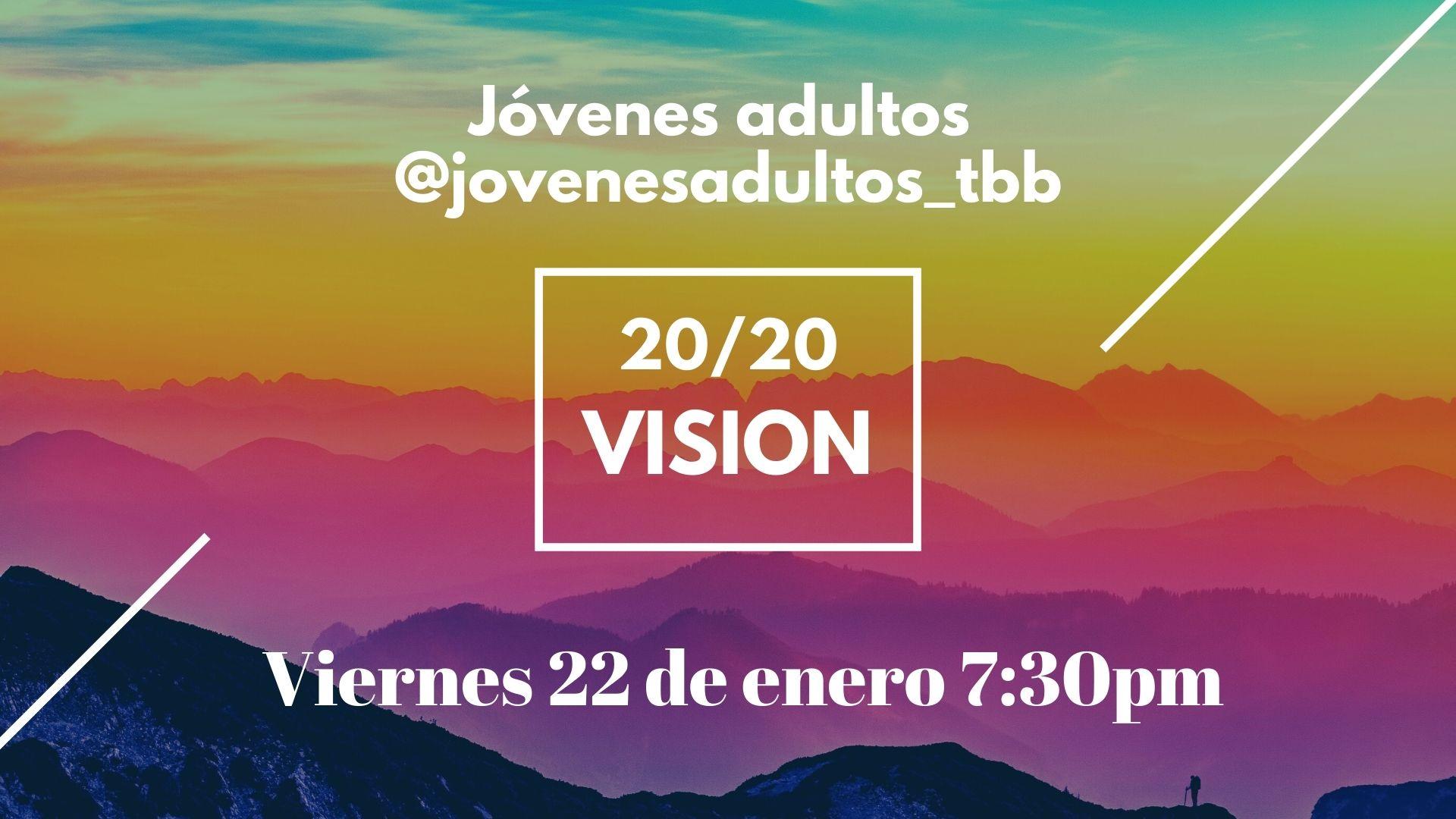 Jovenes adultos enero 22- Iglesia Cristiana