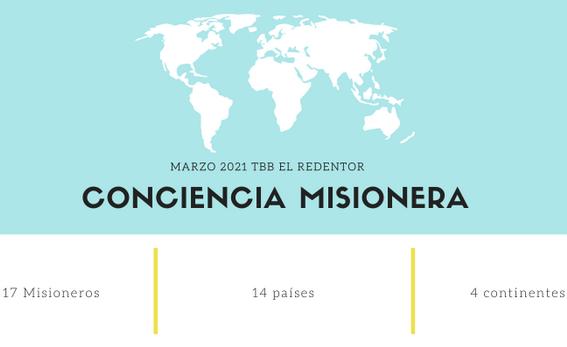 Marzo 2021 - Iglesia Bautista TBB El Redentor - Iglesia Cristiana