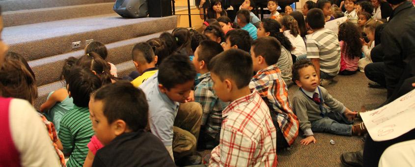 Los niños de nuestra iglesia