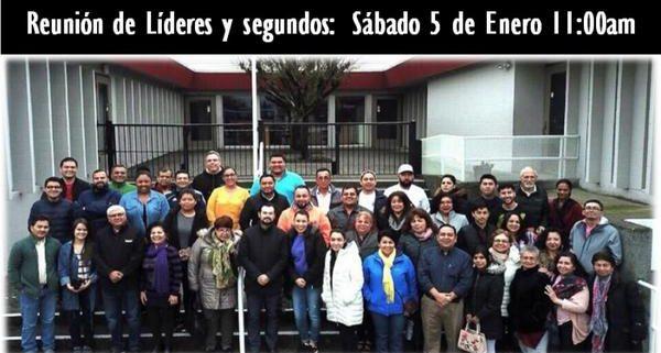 Reunión de líderes - Iglesia El Redentor