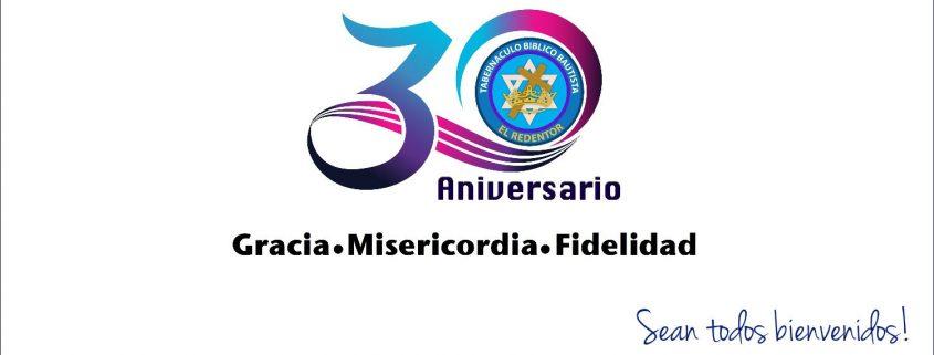 Logo 30 aniversario