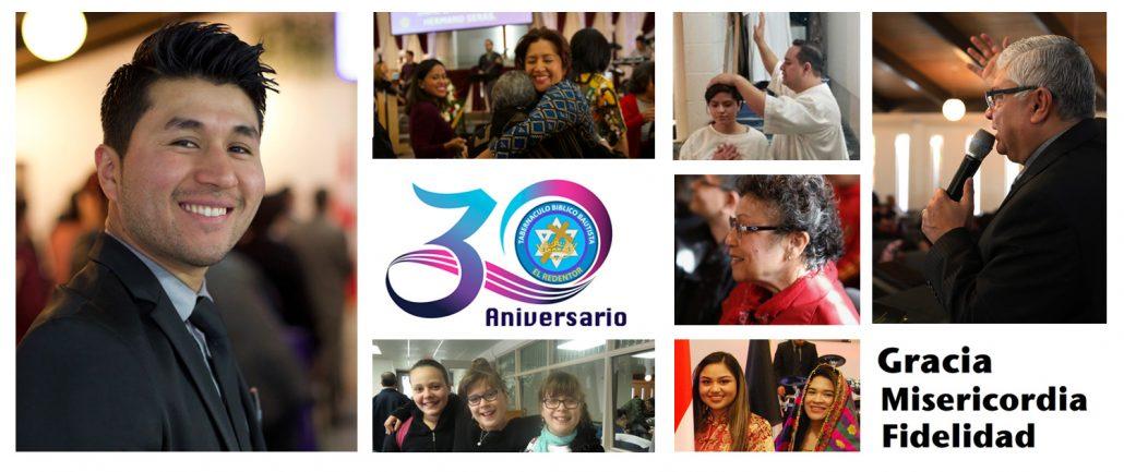 30 aniversario de nuestra Iglesia Tabernáculo Bíblico Bautista El Redentor
