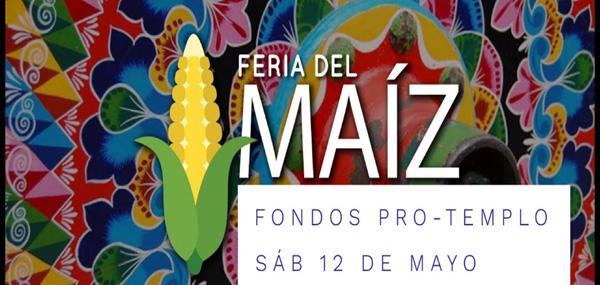 Feria del maíz - actividad pro-templo
