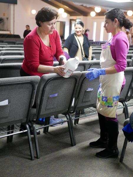 Día de limpieza, Abril 2018 - Iglesia El Redentor