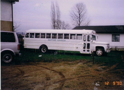 Primeros buses - Timeline - Iglesia El Redentor