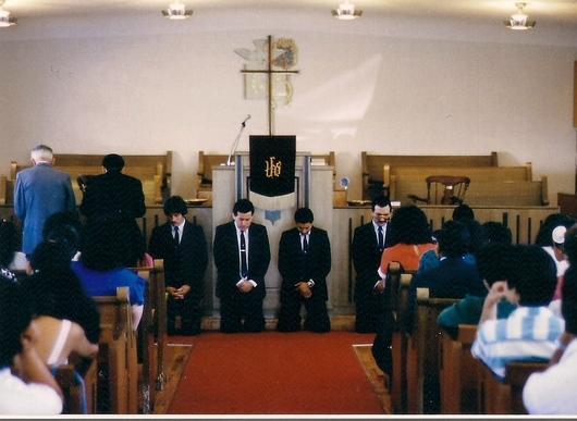 Primeros diaconos - Timeline - Iglesia El Redentor