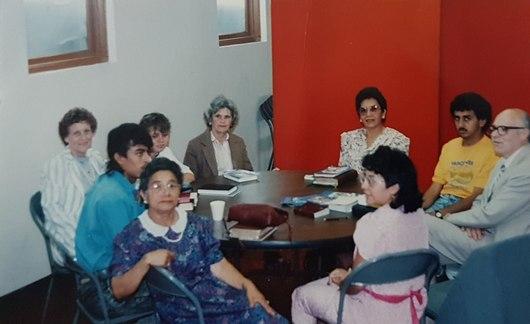 Primeras reuniones - Timeline - Iglesia El Redentor