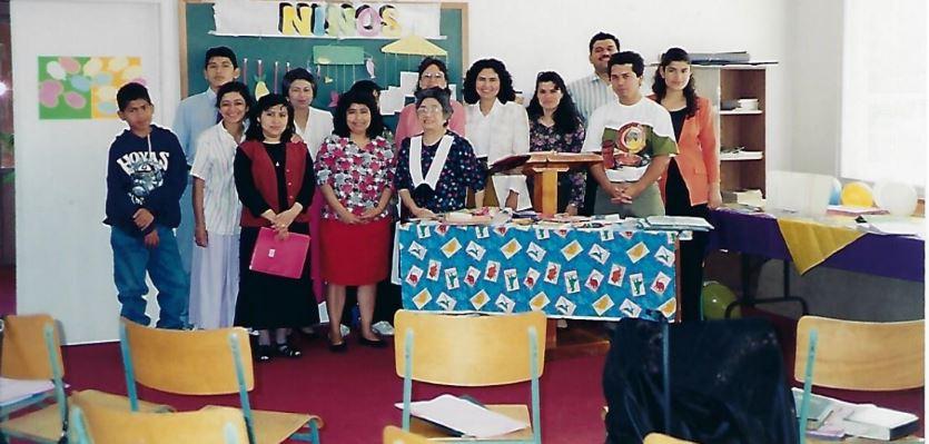 Entrenamiento de maestros - Timeline - Iglesia El Redentor