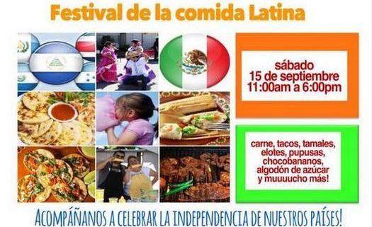 Feria internacional de comida - Iglesia El Redentor