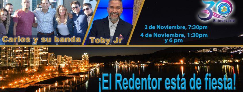 30 aniversario poster - Iglesia El Redentor