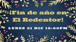 Fin de año - Iglesia El Redentor