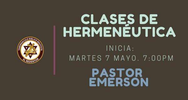 Clases de Hermeneutica