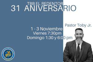 Aniversario - Iglesia El Redentor
